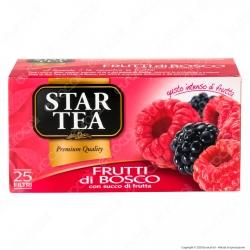 Star Tea Tè Frutti di Bosco - Confezione da 25 Filtri