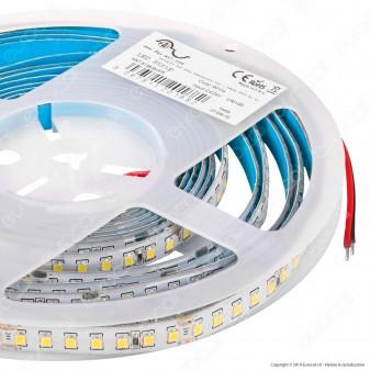 FAI Striscia LED 2835 Monocolore 140 LED/metro 24V IP65 CRI≥90 - Bobina da 5 metri - mod. 5135/BI/CA / 5135/BI/CO / 5135/BI/FR