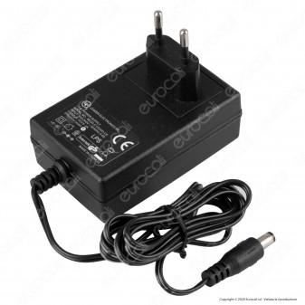 Led Line Alimentatore Socket Stabilised Switching Nero LEI - Mod. ZG24W12V(7)
