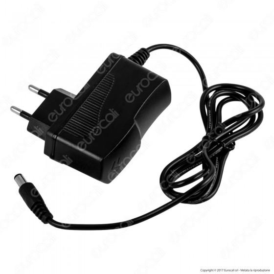 V-Tac VT-23019 Alimentatore 18W 12V IP44 Plug&Play con Jack 2.1 - SKU 3237