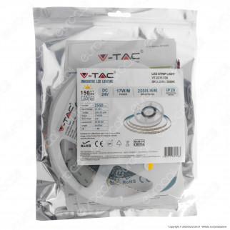 V-Tac VT-2835-238 Striscia LED 2835 Monocolore 238 LED/metro - Bobina da 5 metri - SKU 2599 / 2600 / 2601