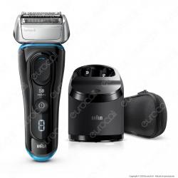 Braun Rasoio Elettrico da Barba Uomo Braun Serie 8 Wet&Dry 8365cc con Stazione di Pulizia Clean & Charge