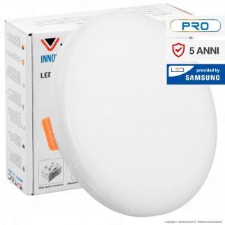 V-Tac PRO VT-610 Pannello LED Rotondo 12W SMD da Incasso Regolabile con Driver con Chip Samsung - SKU 727 / 728 / 729