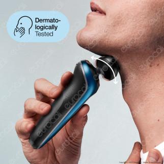 Braun Rasoio Elettrico da Barba Uomo Braun Serie 6 Wet&Dry 60-B1000s