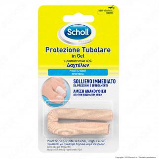Scholl Protezione Tubolare in Gel - Confezione con 1 Pezzo Ritagliabile
