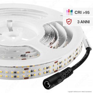 V-Tac VT-2216 Striscia LED 2216 Monocolore 360 LED/metro 24V CRI≥95 - Bobina da 5 metri - SKU - 2580 / 2581 / 2582