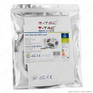 V-Tac Striscia LED 5050 Multicolore RGB 30 LED/metro - Bobina da 5 metri - SKU 2124