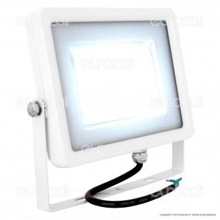 V-Tac VT-4830 Faretto LED SMD 30W Ultra Sottile da Esterno Colore Bianco