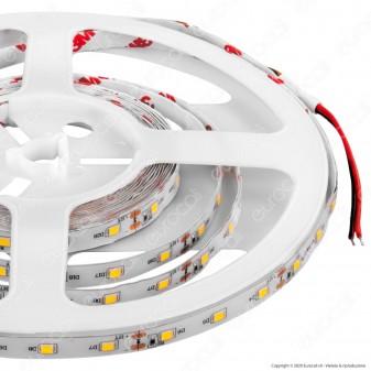 V-Tac Striscia LED 2835 Impermeabile Monocolore 60LED/metro - Bobina da 5 metri - SKU 2519