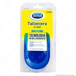 Scholl Talloniera in Gel Piccola - Confezione con 1 paio di talloniere