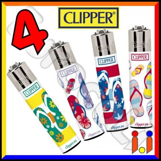 Clipper Large Fantasia Flip Flops - 4 Accendini