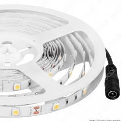 V-Tac VT-5050 Striscia LED 5050 Monocolore 30LED/metro - Bobina da 5 metri - SKU 2135 / 2133