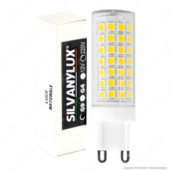Silvanylux Lampadina LED G9 10W Tubolare - mod. GRN740/1 / GRN740/2 / GRN740/3