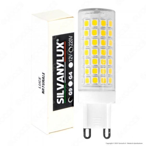 Silvanylux Lampadina LED G9 10W Tubolare - mod. GRN740/1 / GRN740/2 GREN740/3