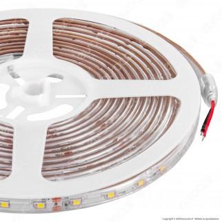 V-Tac Striscia LED 3528 Impermeabile Monocolore 60LED/metro - Bobina da 5 metri - SKU 2032 / 2043 / 2031