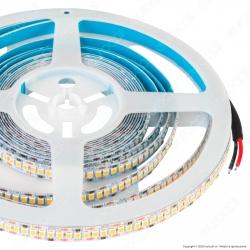 V-Tac Striscia LED 2835 Monocolore 18W/M 240 LED/metro - Bobina da 5 metri - SKU 2164 / 2165 / 2166
