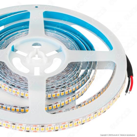 V-Tac Striscia LED 2835 Monocolore 240 LED/metro - Bobina da 5 metri - SKU 2164 / 2165 / 2166