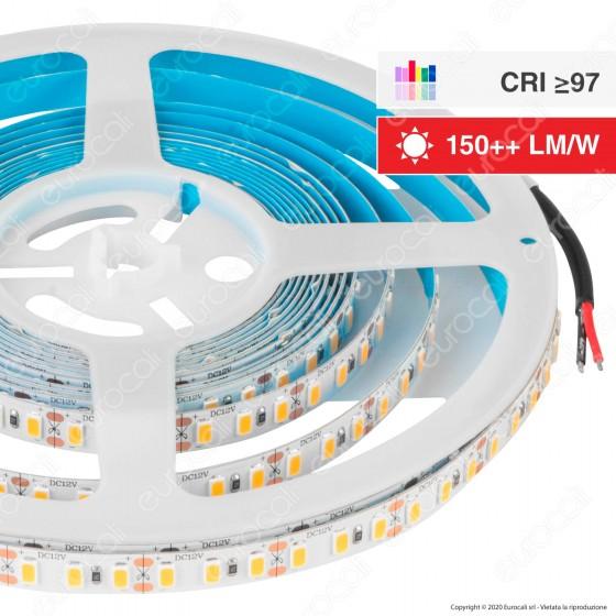 V-Tac Striscia LED SMD5730 18W/m Monocolore 120 LED/metro Bobina da 5 metri - SKU 2162 / 2163 / 2161