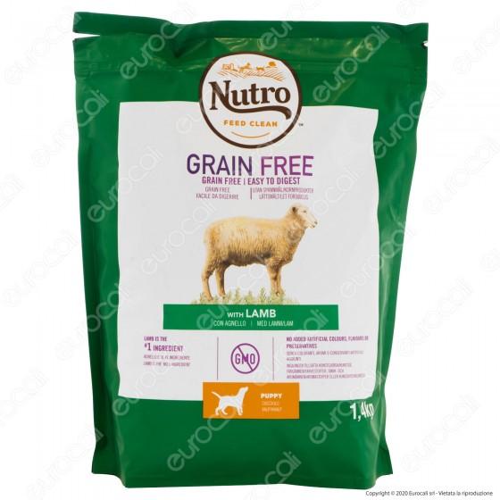Nutro Grain Free Puppy Agnello per Cuccioli di Cane - Busta da 1,4Kg