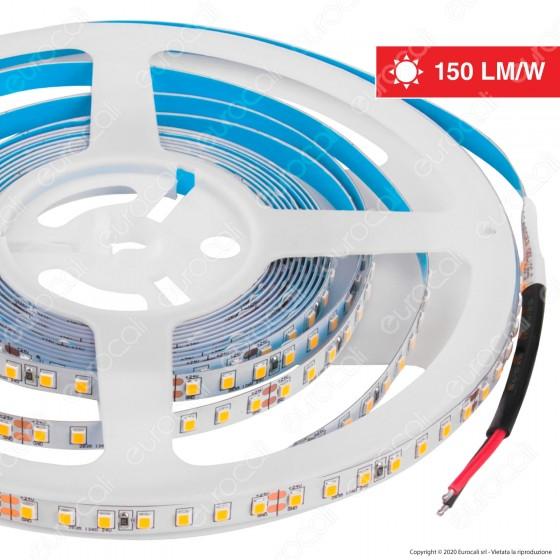 V-Tac VT-2835-126 Striscia LED 2835 Monocolore 126 LED/metro - Bobina da 5 metri - SKU 2593 / 2594 / 2595