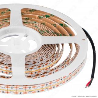V-Tac VT-2110 Striscia LED SMD 2110 21W/m 24V Monocolore 700 LED/metro CRI ≥90 - Bobina da 5 metri - SKU 2602 / 2603 / 2604