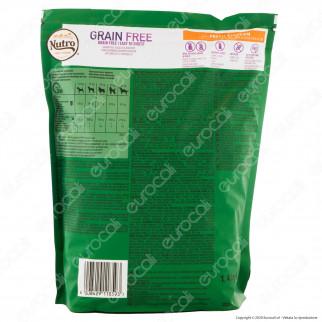 Nutro Grain Free con Pollo Fresco Cibo per Cani Adulti Taglia Medio Grande - Busta da 1,4Kg