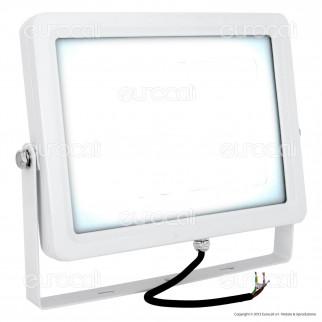 V-Tac VT-48100 Faretto LED SMD 100W Ultra Sottile da Esterno Colore Bianco