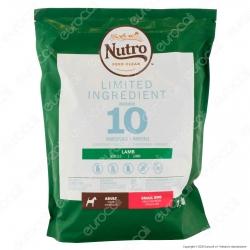 Nutro Limited Ingredient con Agnello Cibo per Cani Adulti Taglia Piccola - Busta da 1,4Kg