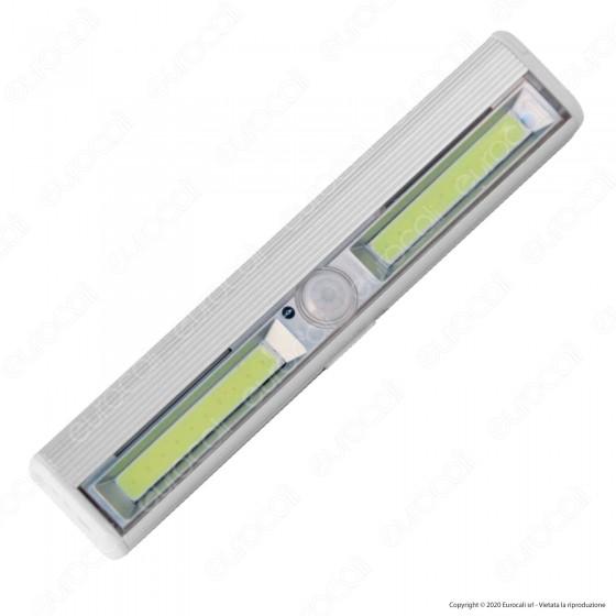 Velamp Smarty Luce LED a Batteria Reglette con Sensore di Movimento - mod. LT011