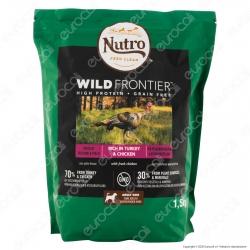 Nutro Wild Frontier con Pollo e Tacchino Cibo Secco per Cani Adulti Taglia Media Grande - Busta da 1,5Kg