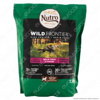 Nutro Wild Frontier con Pollo e Tacchino Cibo per Cani Adulti Taglia Medio Grande - Busta da 1,5Kg