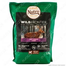 Nutro Wild Frontier con Manzo Pollame e Cervo Cibo Secco per Cani Adulti Taglia Media Grande - Busta da 1,5Kg