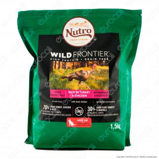 Nutro Wild Frontier con Tacchino Pollo e Manzo Cibo Secco per Gatti Adulti - Busta da 1,5Kg