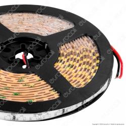 FAI Striscia LED Impermeabile Monocolore 120 LED/metro Emissione Luce Laterale - Bobina da 5 metri - mod. 5119