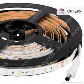 Wiva Striscia LED Monocolore 60 LED/metro CRI 95 - Bobina da 5 metri - mod. 41700121
