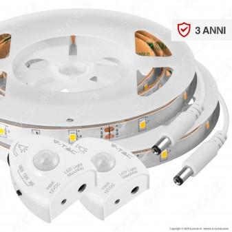 V-Tac VT-8068 Bedlight Kit Striscia LED con Sensore e Alimentatore per Letto Matrimoniale - SKU 2550 / 2551