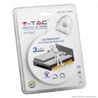 V-Tac VT-8067 Bedlight Kit Striscia LED con Sensore e Alimentatore per Letto Singolo - SKU 2548 / 2549