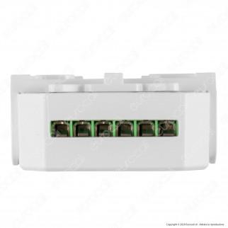 Life Modulo 2CH Ricevitore Interruttore Dimmer/ON/OFF Wi-Fi con Pulsanti - mod. 39.9WI50207