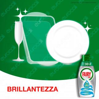 Fairy Platinum Gel detersivo per LavastoviglieBrezza Marina 32 lavaggi - Flacone da 650ml