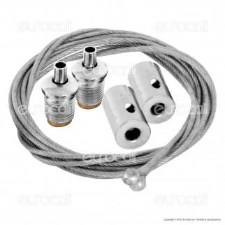 V-Tac Kit per Montaggio a Sospensione di Tubi LED VT-12042 - SKU 8071