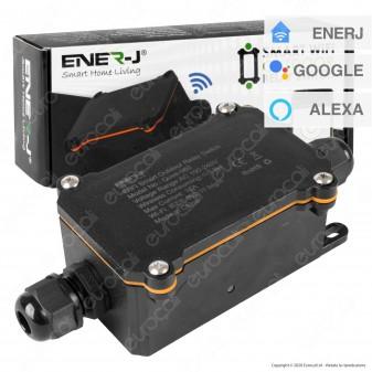 Ener-J Interruttore Smart Wi-Fi Outodoor Relay Switch IP55- mod. SHA5305