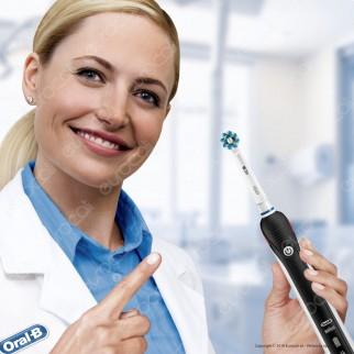 [EBAY] Oral B PRO 2 2950N CrossAction - 2 Spazzolini Elettrici Ricaricabili Braun Timer