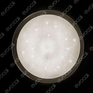 V-Tac Smart VT-8401 Plafoniera 3in1 LED 20W / 40W Forma Circolare Effetto Cielo Stellato - SKU 14741