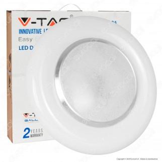 V-Tac VT-8504 Plafoniera LED 3in1 30W / 60W Forma Circolare Effetto Cielo Stellato con Telecomando - SKU 14621