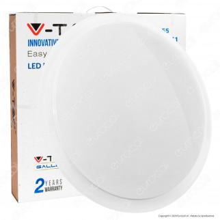 V-Tac Smart VT-8555 Plafoniera 3in1 LED 30W / 60W Forma Circolare Effetto Cielo Stellato - SKU 147551