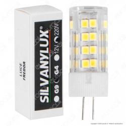 Silvanylux Lampadina LED G4 5W 220V Tubolare - mod. GRN926/1 / GRN926/2 / GRN926/3