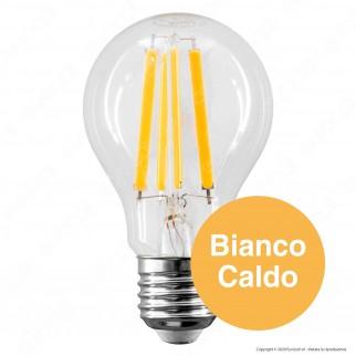 Bot Lighting Shot Lampadina LED E27 11W Bulb A60 Filamento Extra Lungo Dimmerabile - mod. WLD1011X2D