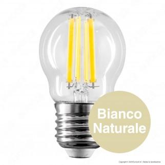 Bot Lighting Shot Lampadina LED E27 6W MiniGlobo G45 Filamento Dimmerabile - mod. WLD3106X2D / WLD3106X3D