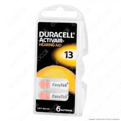 Duracell Activair Misura 13 - Blister 6 Batterie per Protesi Acustiche