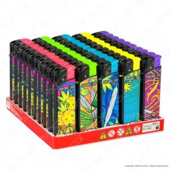 SmokeTrip Accendini Elettronici Ricaricabili Fantasia Arts - Box da 50 Accendini
